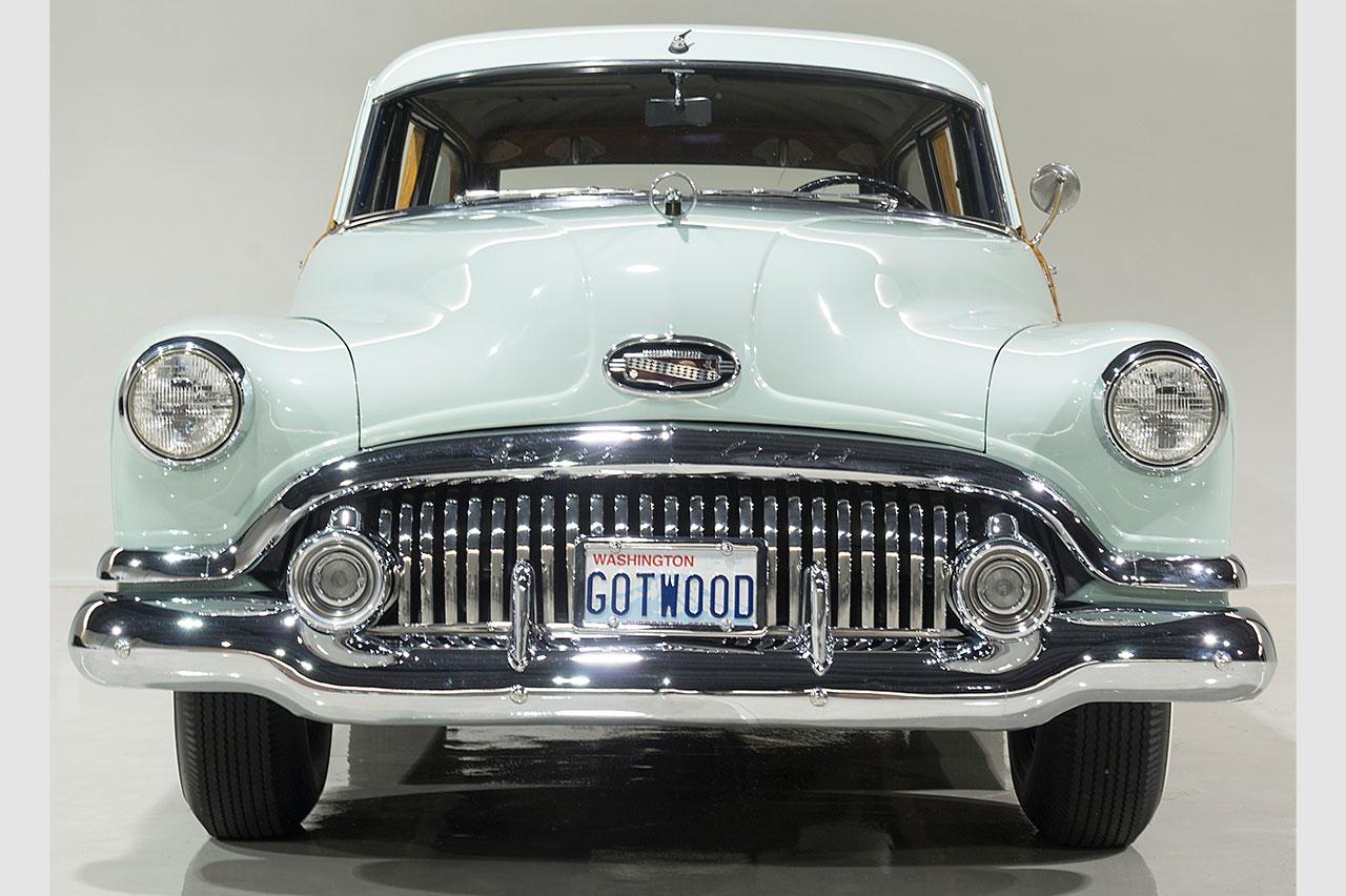 Paint Over Wood Paneling 1951 Buick Super Estate Wagon Woody Goodfriend Motors